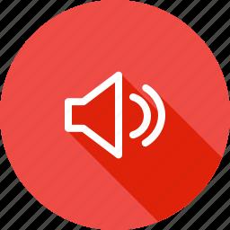 full, high, on, sound, speaker, up, volume icon