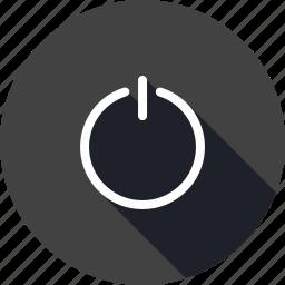 deactive, logout, off, offline, power, shutdown, switch icon