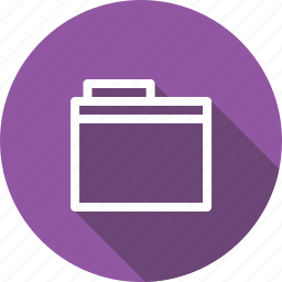 document, explorer, file, folder, office, package, storage icon