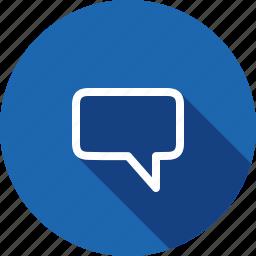 bubble, chat, comment, communication, message, talk icon