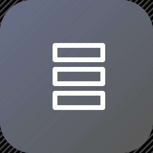data, database, db, server, storage icon