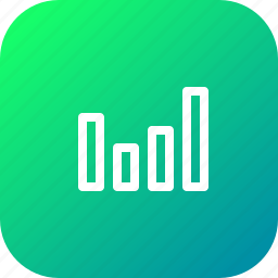 high, level, network, signal, volume icon