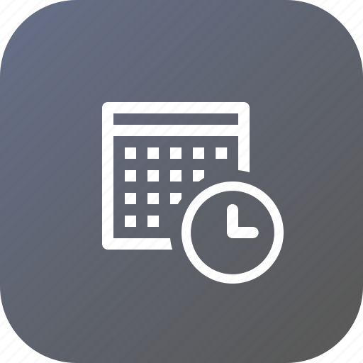 Calender, clock, date, day, event, schedule, time icon - Download on Iconfinder