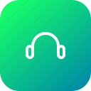 handsfree, headphone, headphones, headset, listening, music, speaker icon