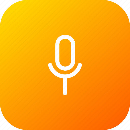 mic, microphone, recoder, record, sound, speak, voice icon