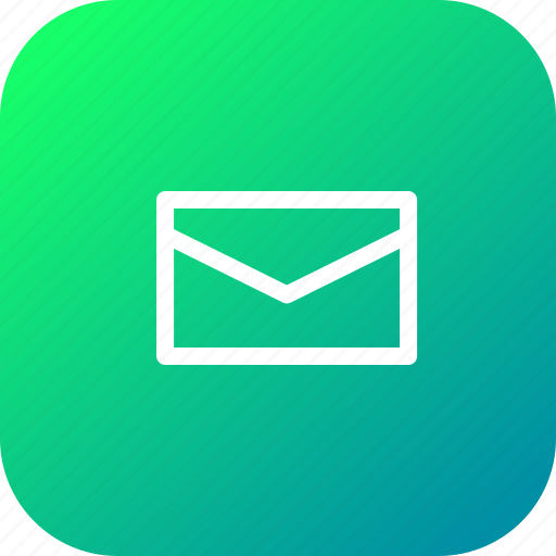 email, envelope, letter, mail, message, newslatter icon