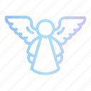 angel, angels, feathers, fly, heaven, wing, wings icon