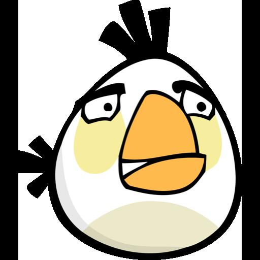 angry birds, white bird icon