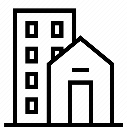 Building, city, estate, home, house, property icon - Download on Iconfinder