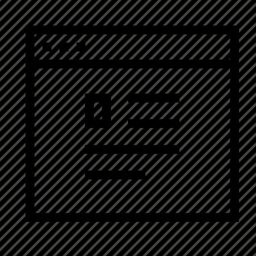 application, document, interface, profile, window icon