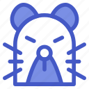 animal, mice, mouse, rat icon