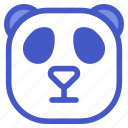 animal, asian, panda, wildlife, zoo icon
