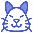 animal, cat, kitten, pet icon