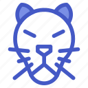 animal, jungle, tiger, wildlife, zoo icon