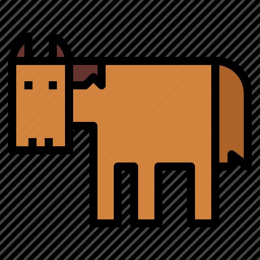 animal, horse, life, mammal, wild icon