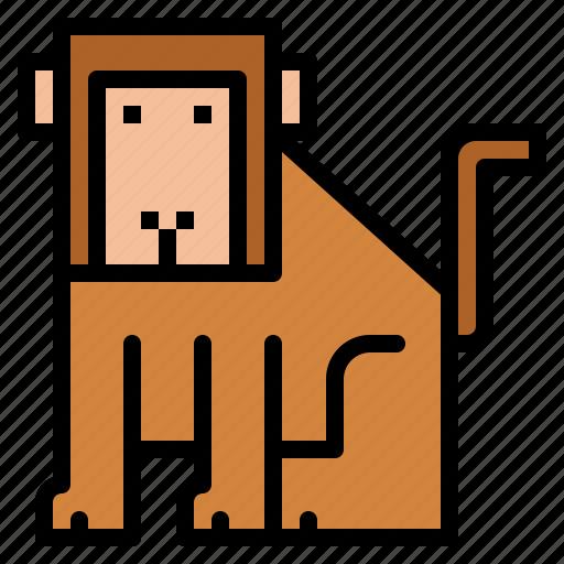 ape, mammal, monkey, zoo icon
