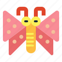 butterfly, entomology, flying, insect, moth icon