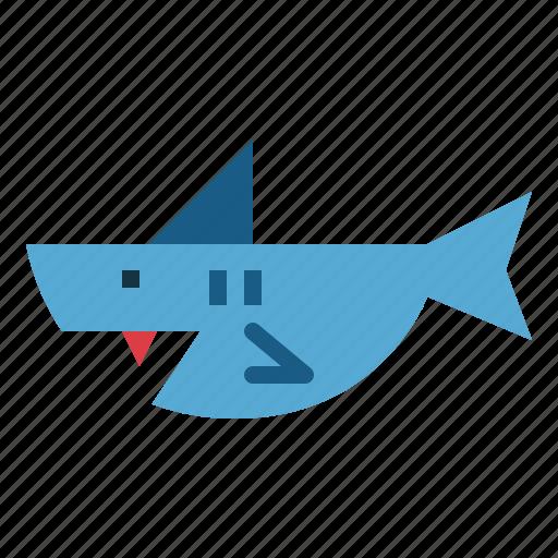 animal, aquarium, aquatic, shark icon