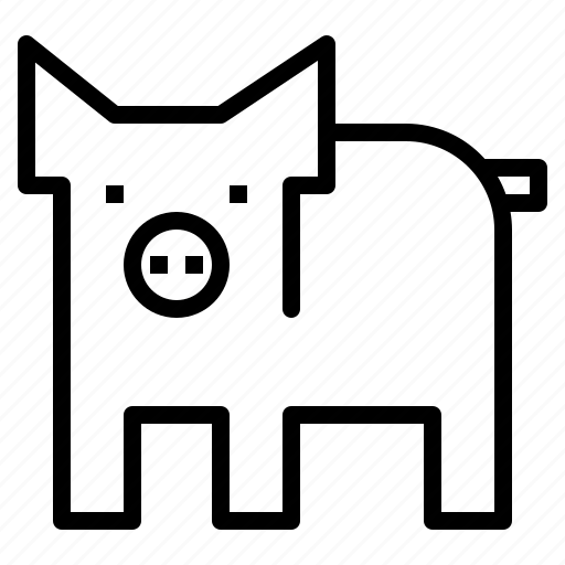 Farm, mammal, pig, pork icon - Download on Iconfinder