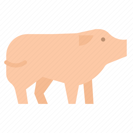 Animal, farm, food, mammal, pig icon - Download on Iconfinder