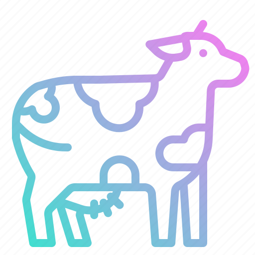 Animal, cow, farm, mammal, milk icon - Download on Iconfinder