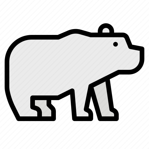 bear, life, polar, wild, zoo icon