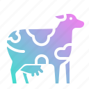 animal, cow, farm, mammal, milk icon