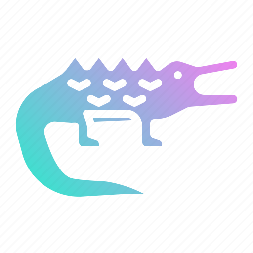 animal, animals, crocodile, kingdom, wildlife, zoo icon