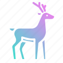 animal, animals, deer, life, wild, zoo icon