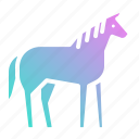 animal, animals, horse, mammal, wild, zoo icon
