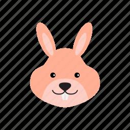 animal, bunny, carrot, pet, rabbit icon