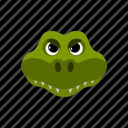 amphibian, animal, crocodile, reptile icon