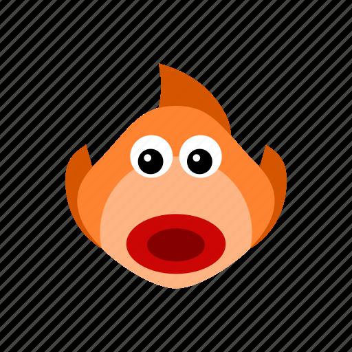 animal, fish, ocean, sea, swim, water icon