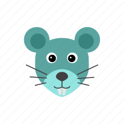 animal, mouse, rat icon