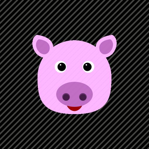 animal, bank, money, pig, piggy, pink, pinky icon