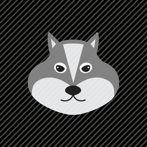 animal, canine, dog, howl, wolf icon