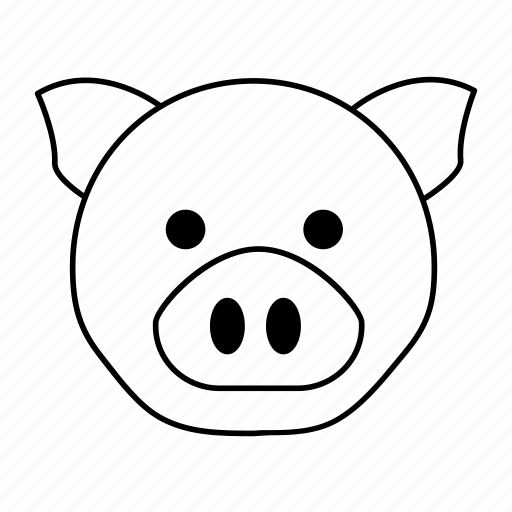 Animals, pig, mammal, pet, animal icon - Download on Iconfinder