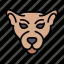 panther, cat, animal, wild, zoo icon