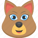 brown cat, brown cat face, clever brown cat, fauna, pet animal icon