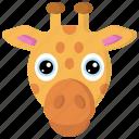 animal, animals, avatars, giraffe, nature, wildlife