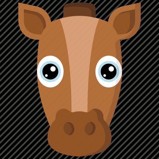 animal, animals, avatars, horse, nature, wildlife icon