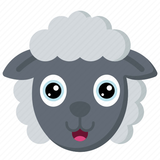 animal, animals, avatars, farm, sheep, wildlife icon