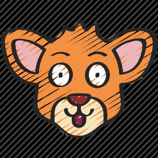 animal, animals, avatars, doe, nature, wildlife icon