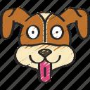 animal, animals, avatars, dog, pets, wildlife icon