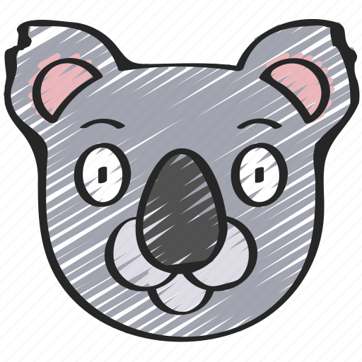 animal, animals, avatars, koala, nature, wildlife icon