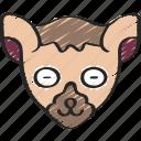 animal, animals, avatars, lemur, nature, wildlife icon