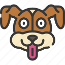 animal, animals, avatars, dog, pets, wildlife icon