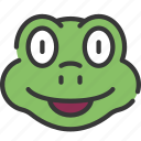 animal, animals, avatars, frog, nature, wildlife icon