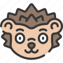animal, animals, avatars, hedgehog, nature, wildlife icon