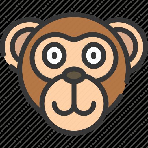 animal, animals, avatars, monkey, nature, wildlife icon